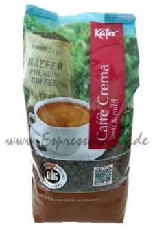 Käfer Caffé Crema 1kg Bohnen