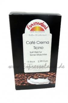 Espressoland Café Crema Ticino Soft Pad für Senseo Maschine
