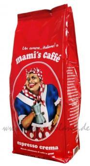 Mami´s Caffé Espresso Crema 1kg Bohnen