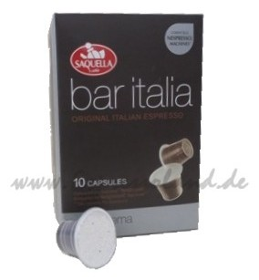 Saquella bar italia bella crema Kapseln
