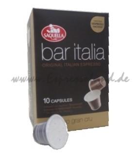 Saquella bar italia espresso grancru Kapseln